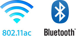 IEEE 802.11 ac/Bluetooth
