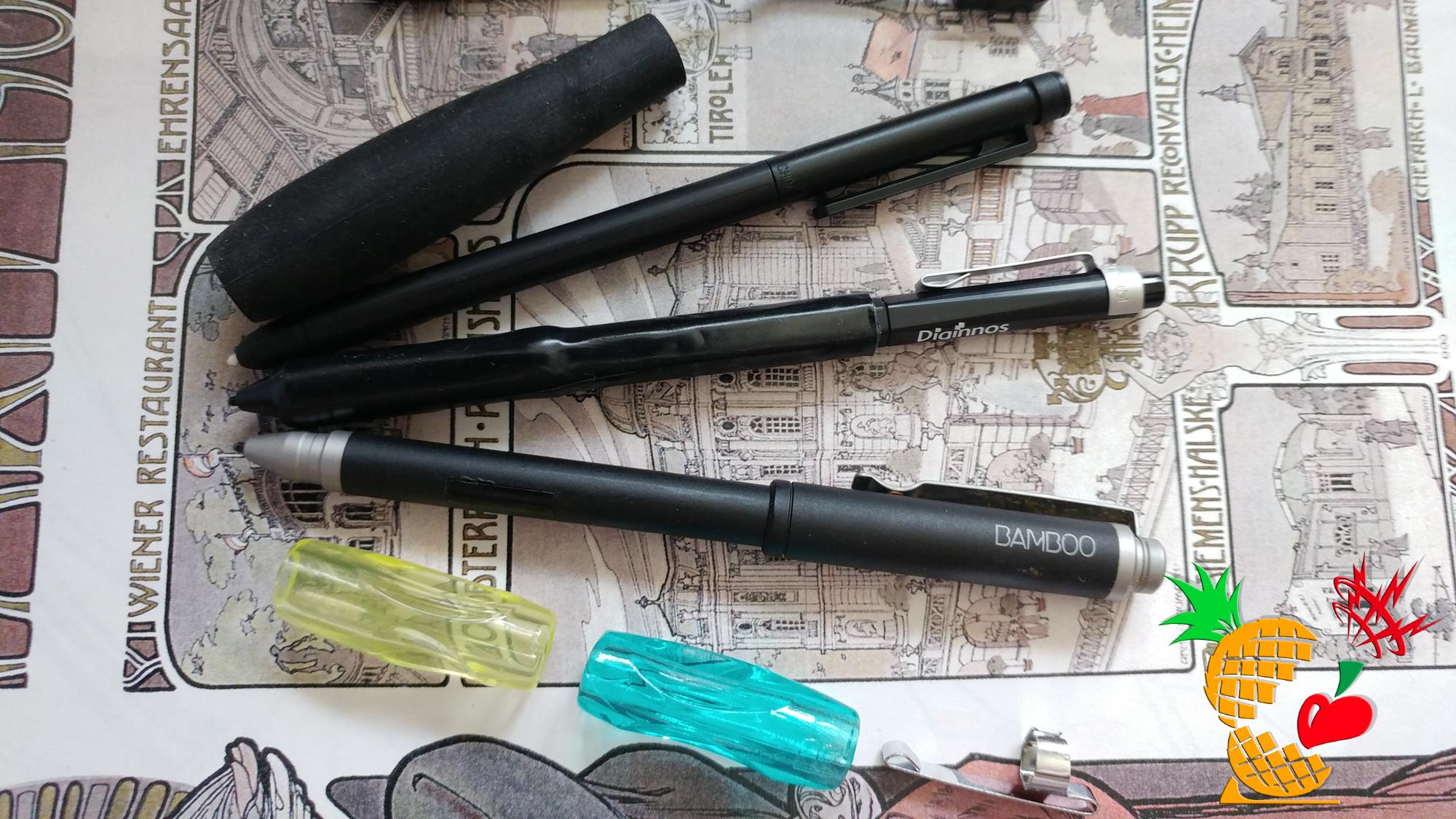 「raytrektab」のペンを自分の使いやすいようにしてみよう ♪