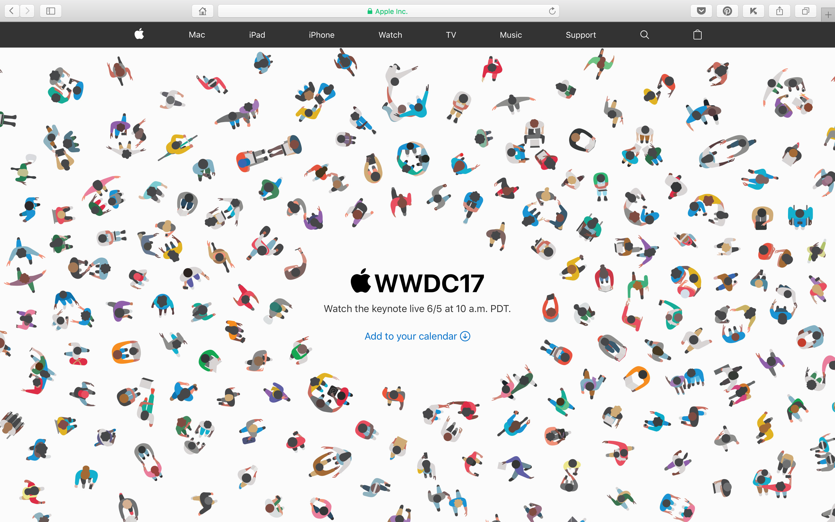 WWDC(WorldWide Developers Conference)2017