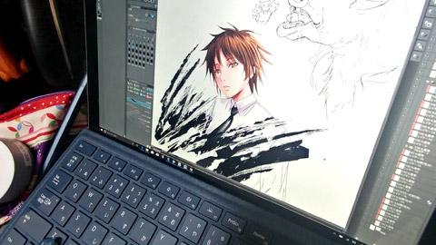 Surface Pro:お絵描き