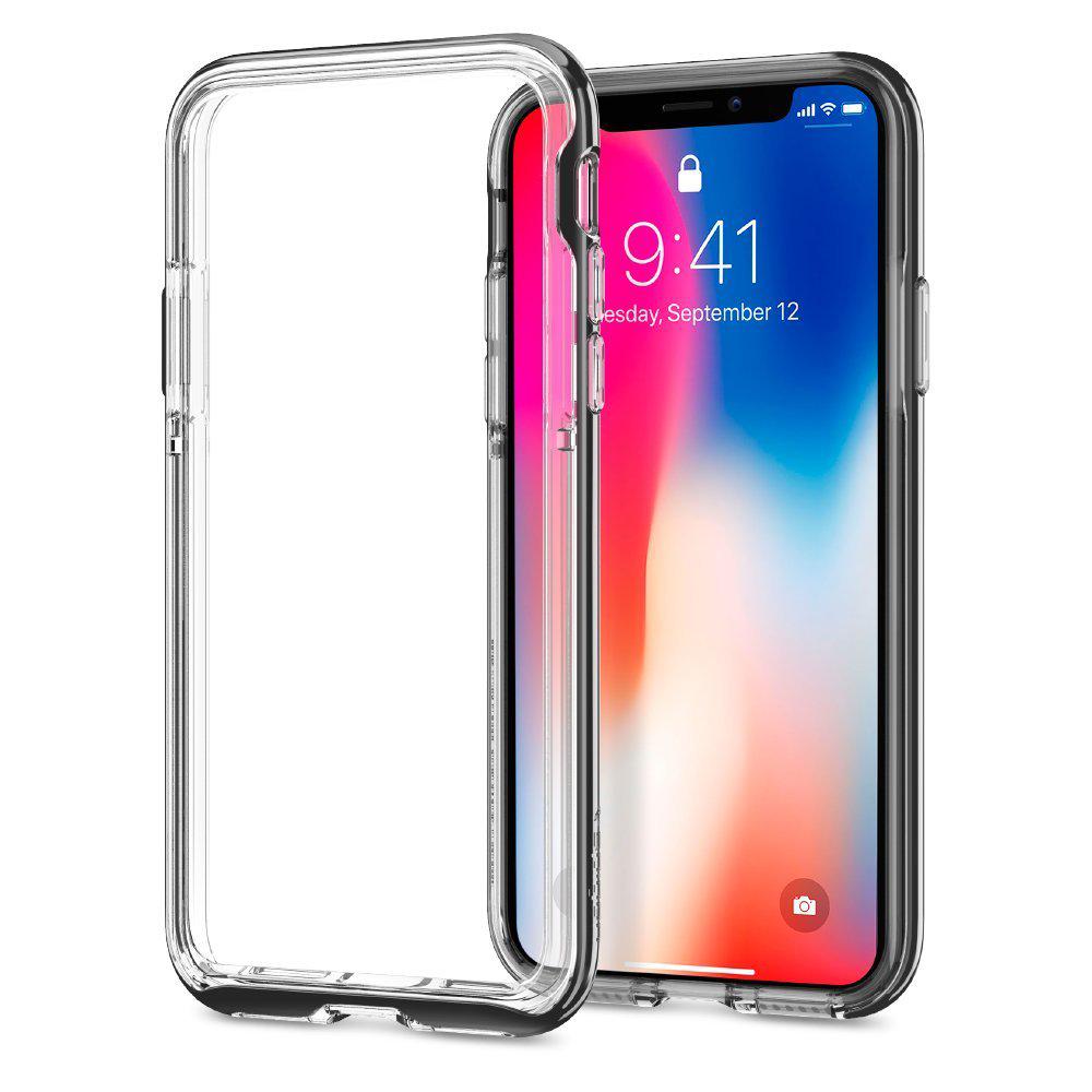 iPhone X ケース ネオハイブリッド EX