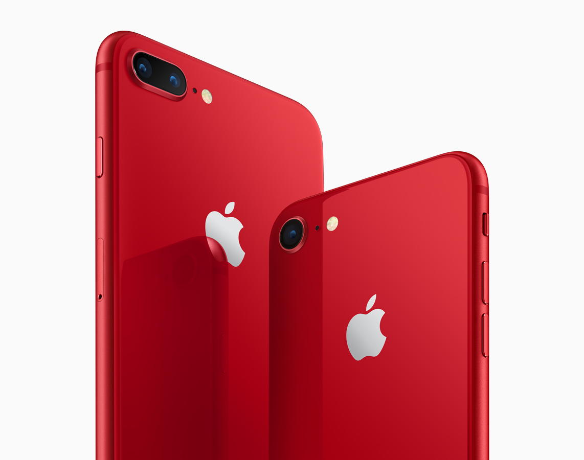 iPhone 8(PRODUCT)RED™ Special Edition//iPhone 8 Plus(PRODUCT)RED™ Special Edition
