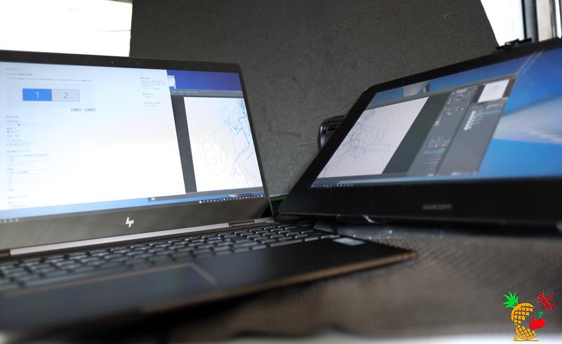 HP Spectre 15 x360 with Wacom Cintiq Pro 16