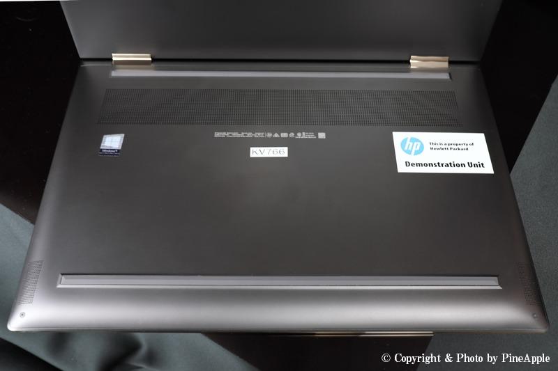 HP Spectre 15 x360:Bang & Olufsen