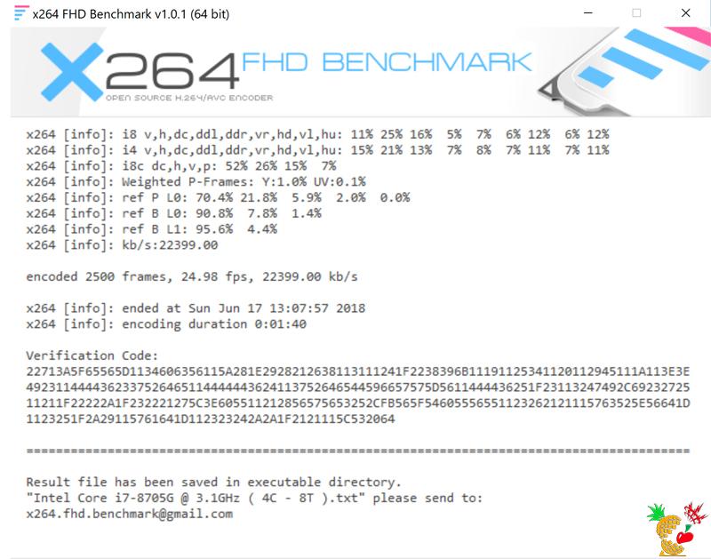 HP Spectre 15 x360:x264 FHD Benchmark
