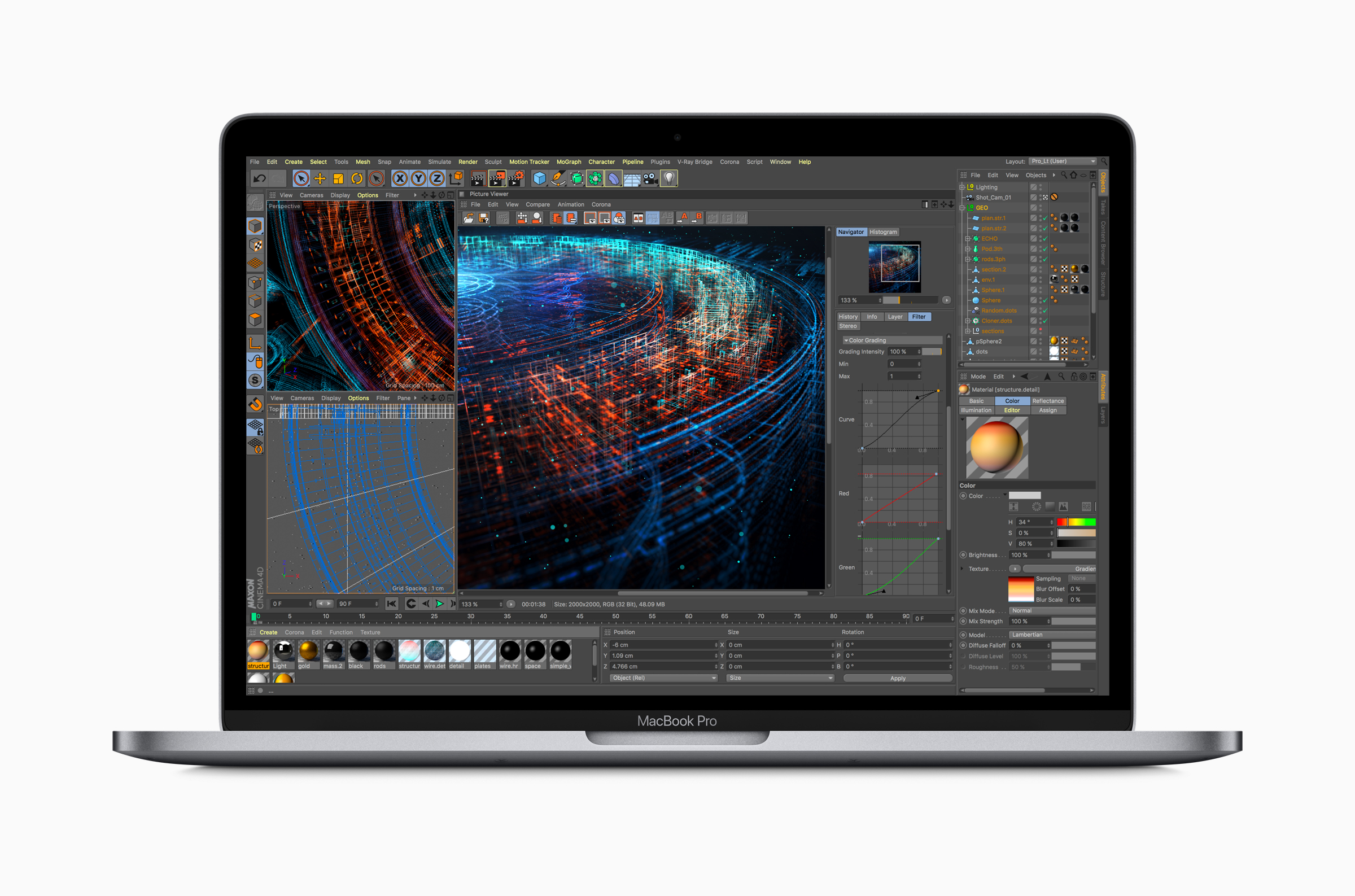 MacBook Pro with Retina Display(Mid, 2018)
