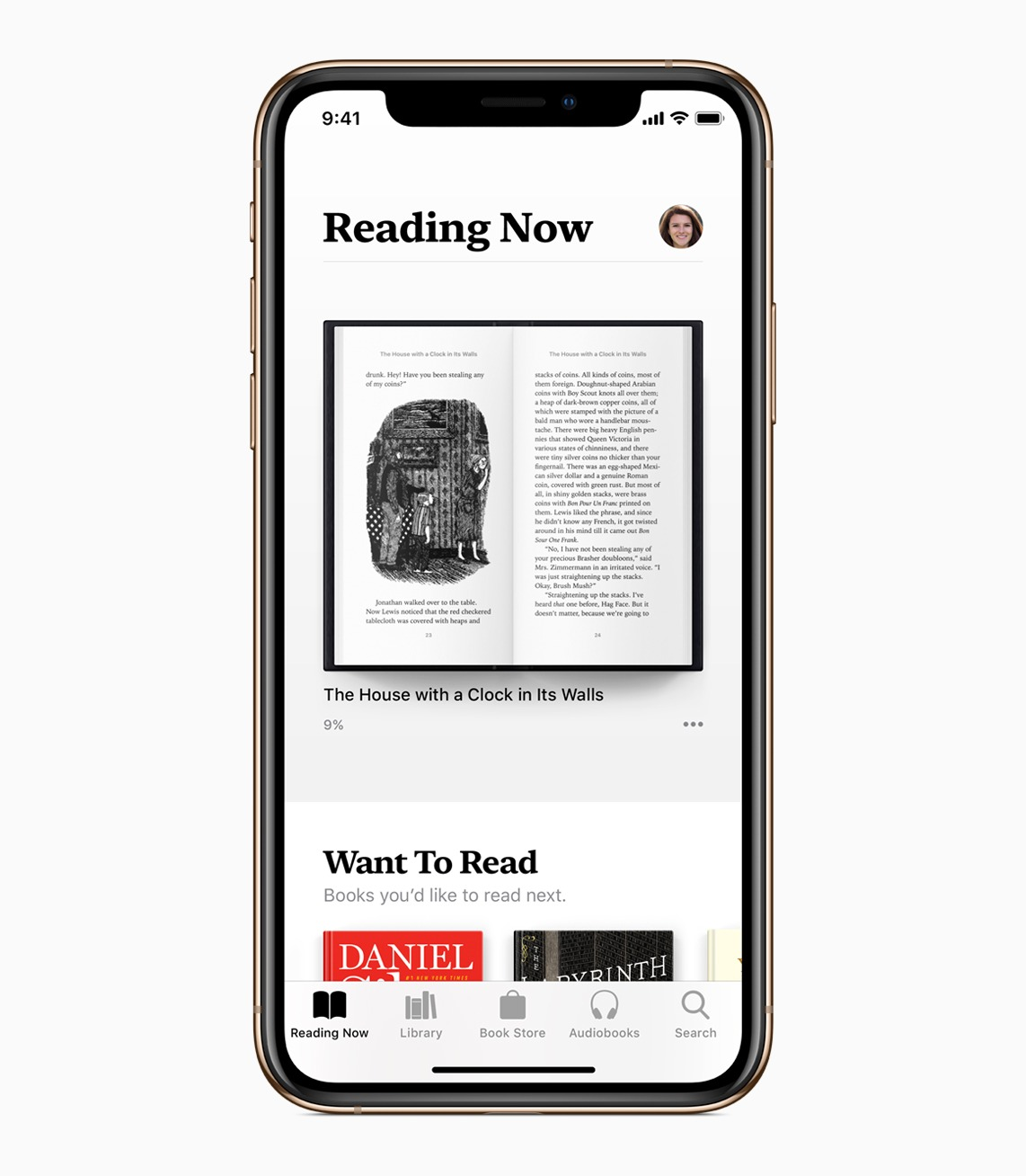 iOS 12:Apple Books