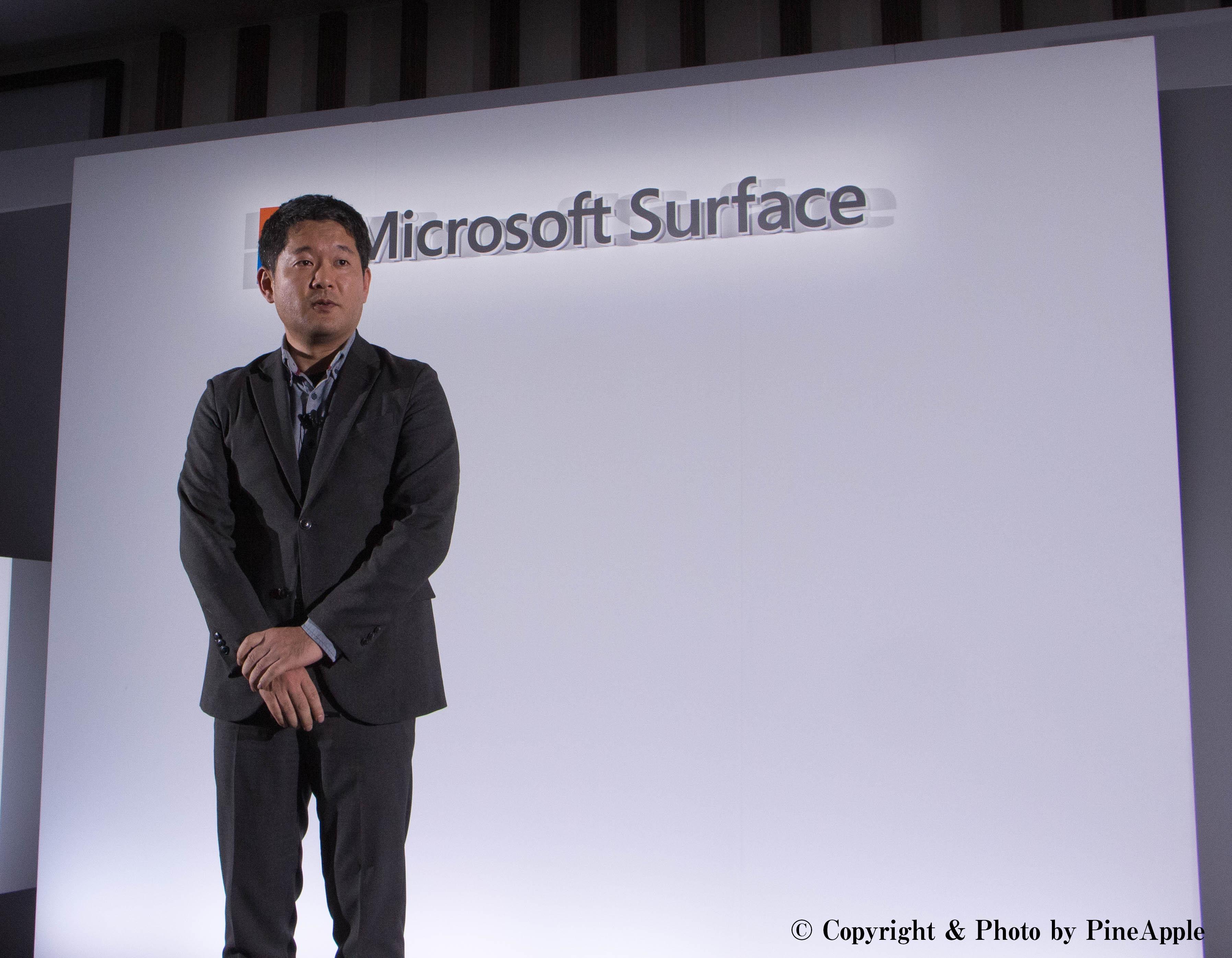 日本マイクソフト株式会社 コンシューマー & デバイス事業本部 業務執行役員 本部長 水田琢也氏