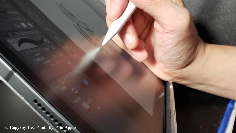XP - Pen Artist 液タブ スタンド 折りたたみスタンド 角度調整可能 AC18 + iPad Pro 12.9 inch(3rd Generation)+ Apple Pencil(2nd Generation)