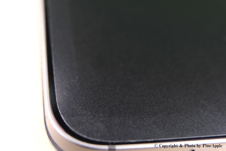 エレコムペーパーライク(ケント紙タイプ)の表面