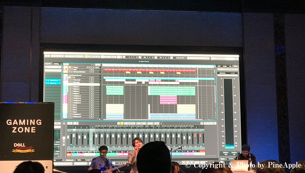 DELL アンバサダー 2周年記念 サンクスパーティー:LIVE:New XPS 15 2 - in - 1(9575)with Cubase