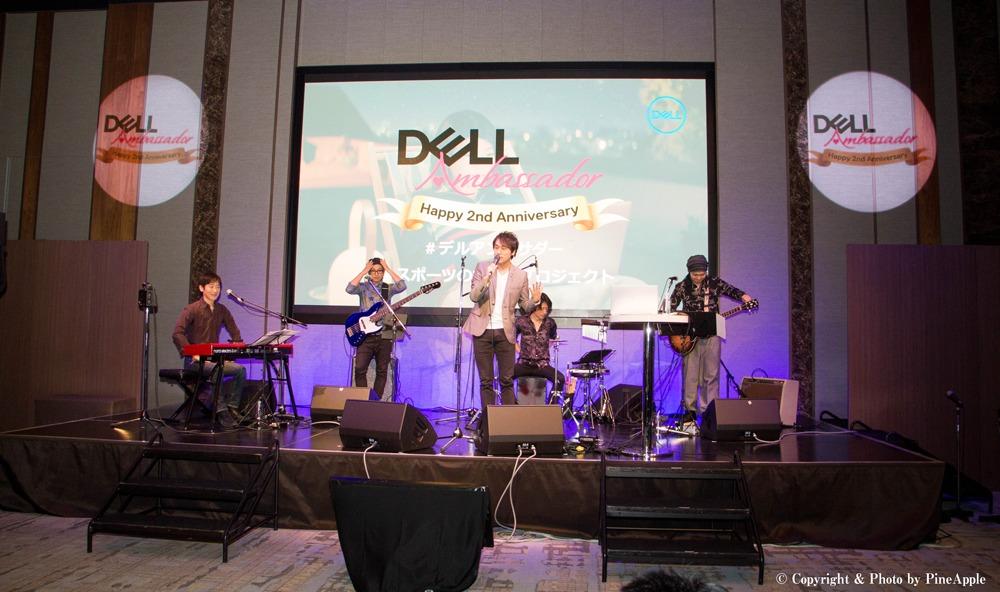 DELL アンバサダー 2周年記念 サンクスパーティー:LIVE