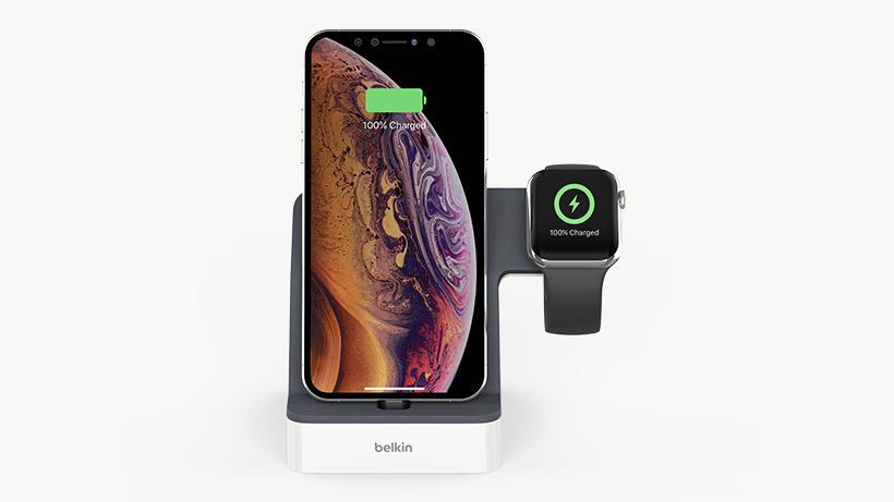Apple Watch + iPhone 用 PowerHouse™ 充電ドック