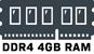 DDR4 4GB RAM