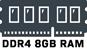 DDR4 8GB RAM