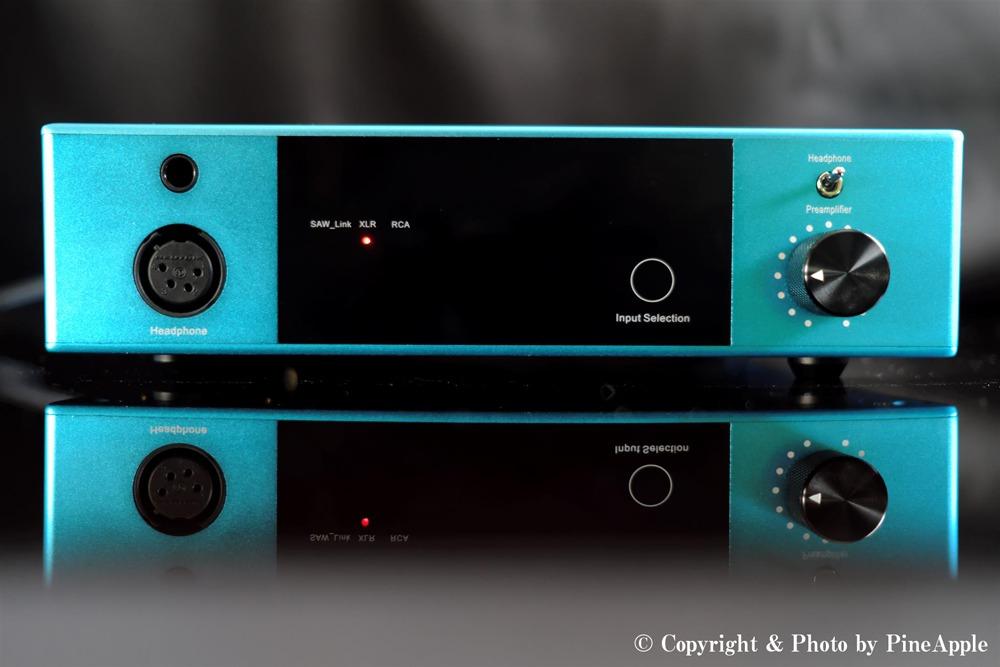 Soundwave P1(据え置きヘッドフォンアンプ)