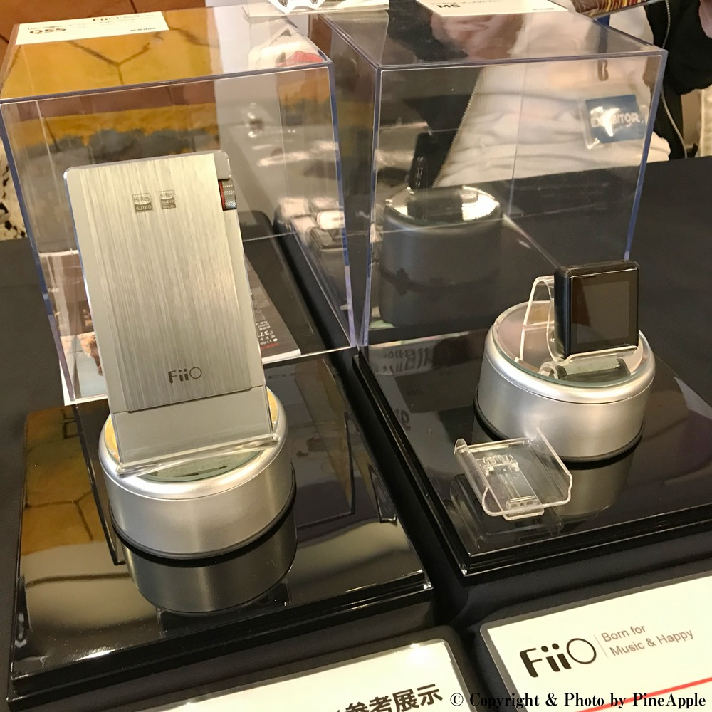 FiiO Q5S(左側)& FiiO M5(右側)