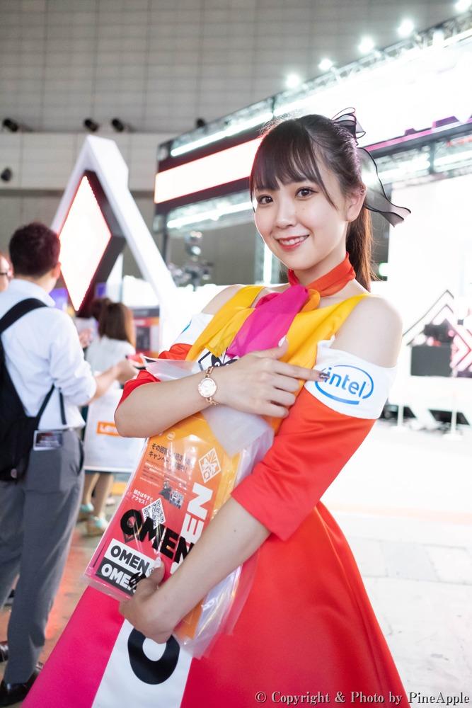 TOKYO GAME SHOW 2019:日本 HP ブース 月城ゆりさん(Twitter:@yrr__n6)