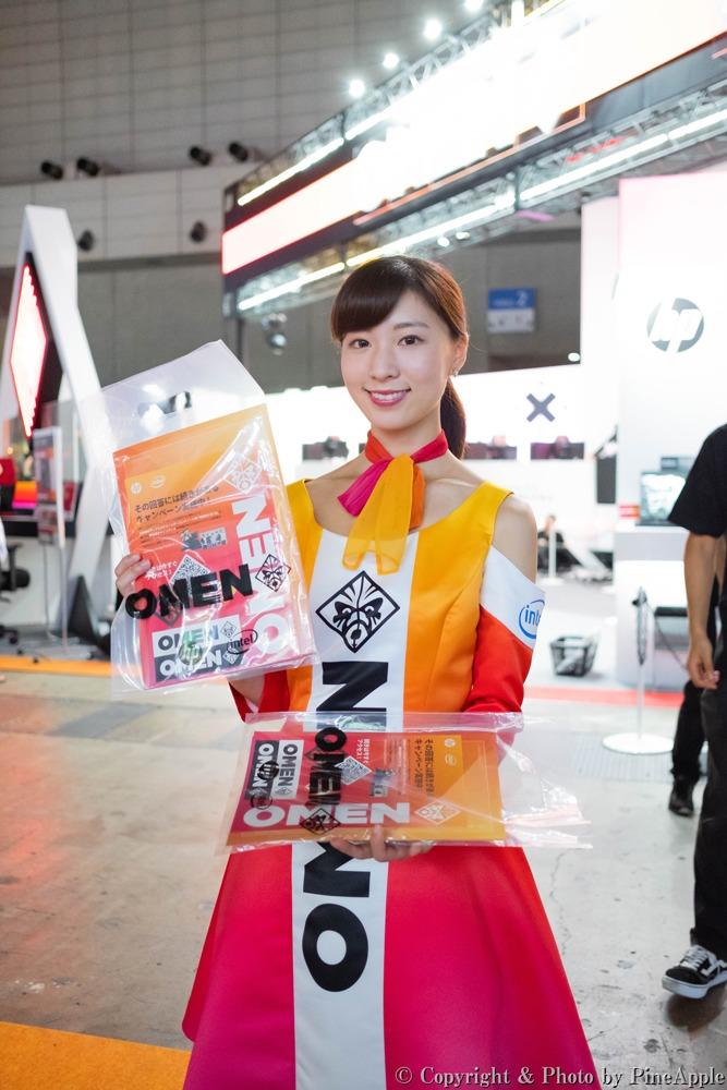 TOKYO GAME SHOW 2019:日本 HP ブース 南 青良さん(Twitter:@nami_renne)