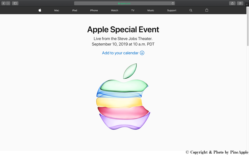 Apple Special Event September 10, 2019
