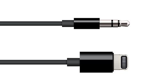 Apple Lightning - 3.5mm オーディオケーブル