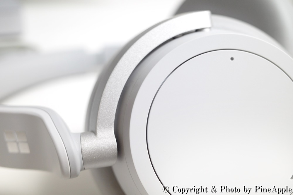 Surface Headphones:左ハウジング