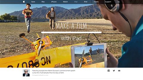 Apple - iPad - Make a film with iPad