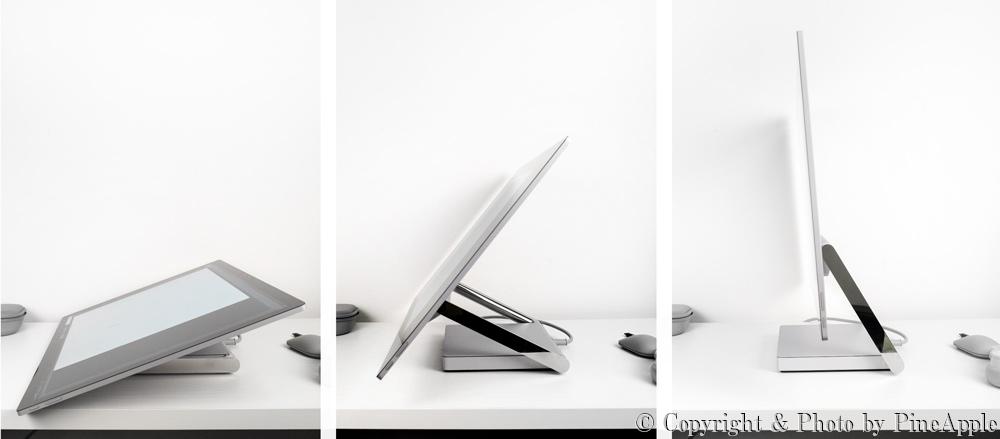 Surface Studio 2:力を入れなくても角度調整できる「ゼログラビティヒンジ」