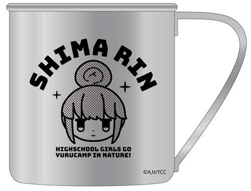 ゆるキャン △ 志摩リンの顔 ステンレスマグカップ