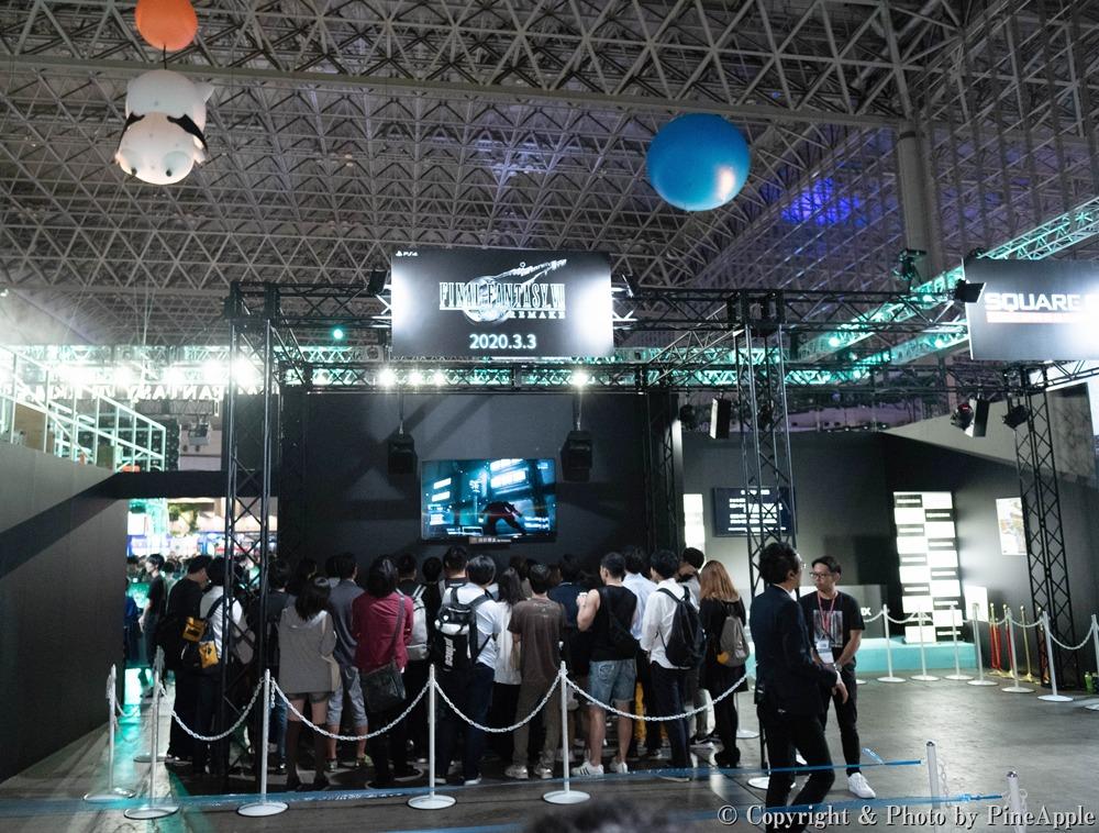FINAL FANTASY VII REMAKE @ FINAL FANTASY VII REMAKE @ TOKYO GAME SHOW 2019