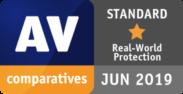 AV comparatives STANDARD JUN 2019