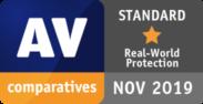 AV comparatives STANDARD NOV 2019
