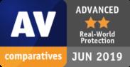 AV comparatives ADVANCED JUN 2019