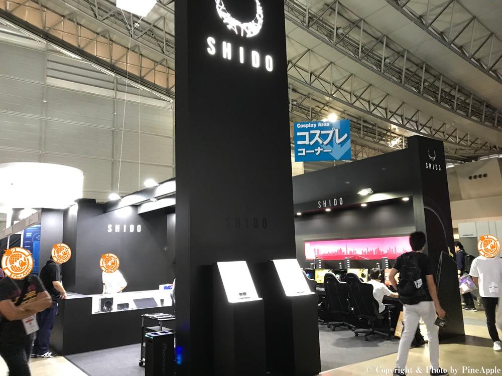 SHIDO ブース @ 東京ブース 2019(TOKYO GAME SHOW 2019)