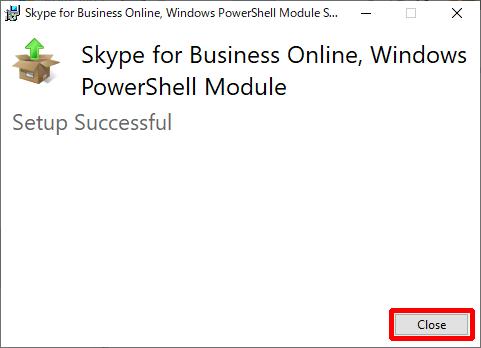 SkypeOnlinePowershell.exe