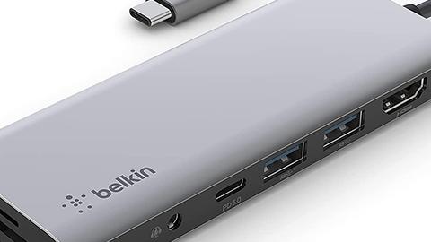 USB Type - C 7 in - 1 マルチ ポート ハブ アダプター